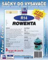 Sáčky do vysavače Rowenta RB 500, 510, 512 3ks