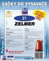 Sáčky do vysavače Zelmer Admiral 11165, 11166 5ks