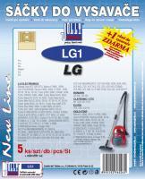 Sáčky do vysavače LG Turbo X 4554, 4565, 4570, 4572, 4560, 4571 5ks
