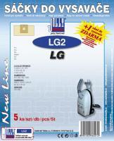 Sáčky do vysavače LG V 2620 5ks