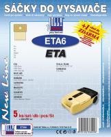 Sáčky do vysavače Eta 1400 Serie 5ks
