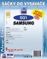 Sáčky do vysavače LG VCQ 962 5ks