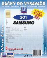 Sáčky do vysavače Samsung NC 6211, NC 6213 5ks