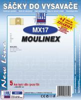 Sáčky do vysavače Moulinex Power Pack 5ks