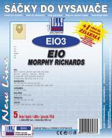 Sáčky do vysavače EIO BSS 01, BSS 02, BSS 022 5ks