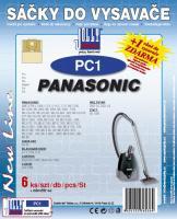 Sáčky do vysavače Panasonic VC 1400, VC 1700, VC 1800 5ks