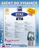 Sáčky do vysavače De Sina BSS 1301, BSS 2000, BSS Max Mobil 5ks