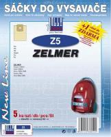 Sáčky do vysavače ZELMER Cobra II Silent 2500 5ks
