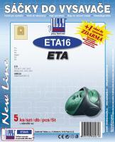 Sáčky do vysavače ETA Tiro 2417 papírové, 5ks