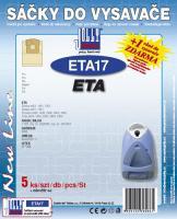 Sáčky do vysavače Eta Denso 1497, Eta Trimo 0499 - a filtr 5ks