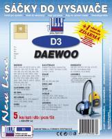 Sáčky do vysavače Daewoo RC 220 R, 220 YL 5ks