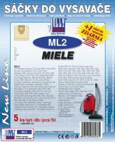Sáčky do vysavače Miele Org. Gr. F, J, M papírové, (ML 2) 5ks