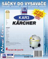 Sáčky do vysavače Karcher 2101, 2105, 2111, 2131 4ks
