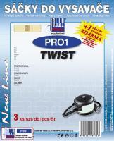 Sáčky do vysavače Twist Profi 1, Profi 3 3ks