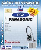 Sáčky do vysavače Panasonic MC E 800-899 5ks