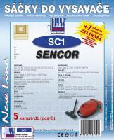 Sáčky do vysavače Sencor SVC 600 (SC1) 5ks