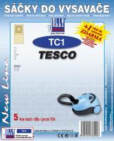 Sáčky do vysavače Tesco VC 206 5ks