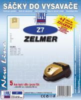 Sáčky do vysavače Zelmer Jupiter 4000 serie 5ks