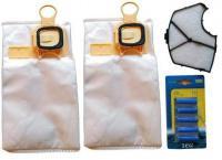 Sáčky do vysavače VORWERK Kobold VK 150 8 ks, pachový filtr, 5 x vůně