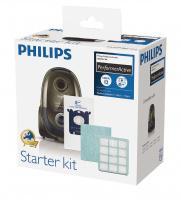 6 ks sáčky S-Bag, HEPA filtr H12, 1 filtr - originál sada PHILIPS FC8059