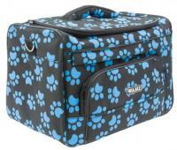 Originální taška na střihací strojky a příslušenství Wahl - modré tlapky