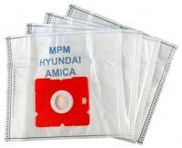 Sáčky do vysavače Worwo MPMB02K mikrovlákno, 4 ks