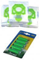 Sáčky do vysavače ZELMER Cobra II, Orion, Syrius, Twist, Twister - MAX pack 12 ks + 3 filtry + 5 vůní Les