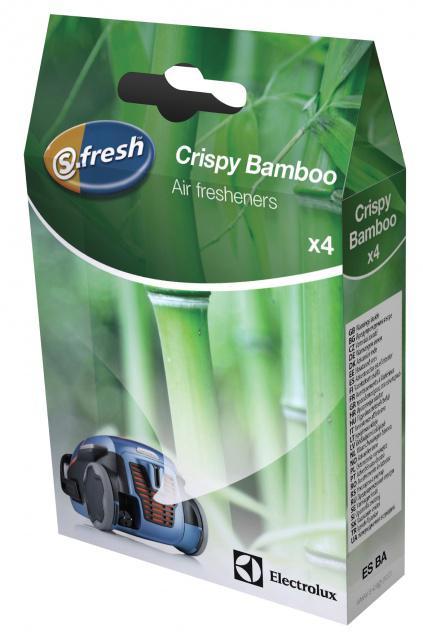 Vůně do vysavače s-fresh™ ELECTROLUX Crispy Bamboo, 4 sáčky  Electrolux
