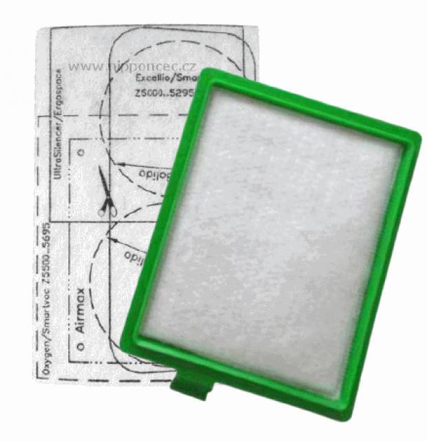 Motorový filtr a filtr v rámečku pro vysavače AEG a Electrolux, M3 Jolly