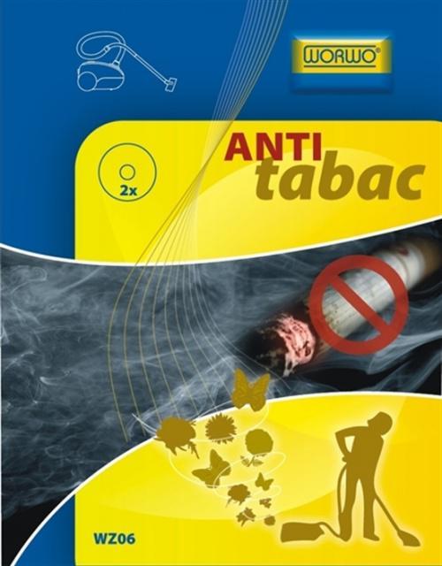 Vůně do vysavače WORWO Anti-Tabac kolečka, 2ks  Worwo
