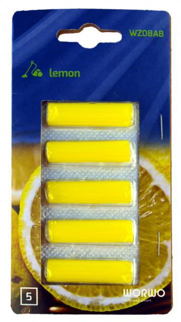 Vůně do vysavače Worwo - citron, 5ks Worwo