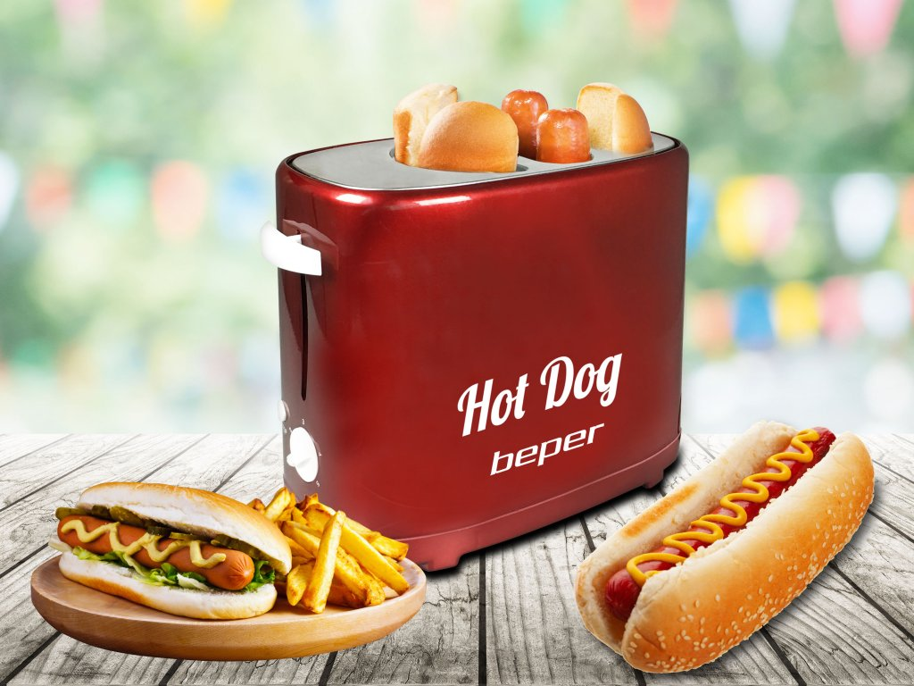 Hotdogovač BEPER Party di Gusto.