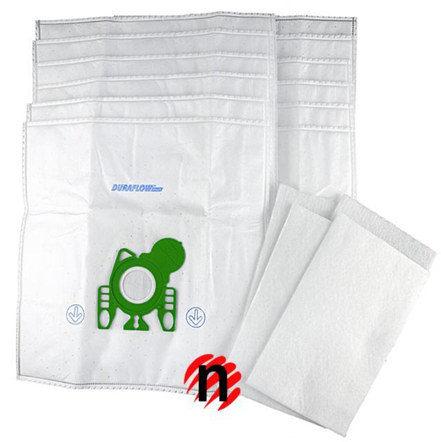 Menalux 3101MP Sáčky do vysavače syntetické 12ks s filtry pro MIELE GN
