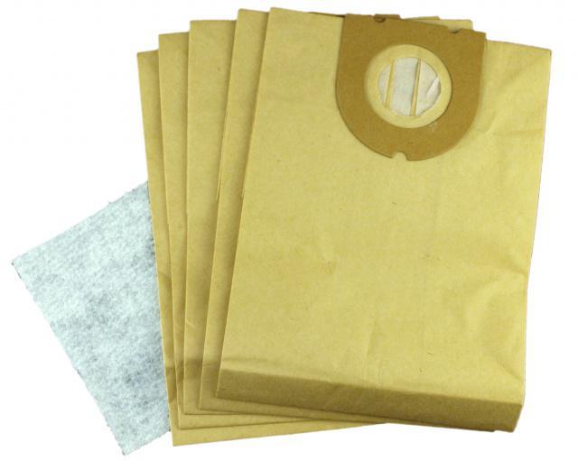 Sáčky do vysavače OMEGA Carat Serie BSS 15 papírové 5ks