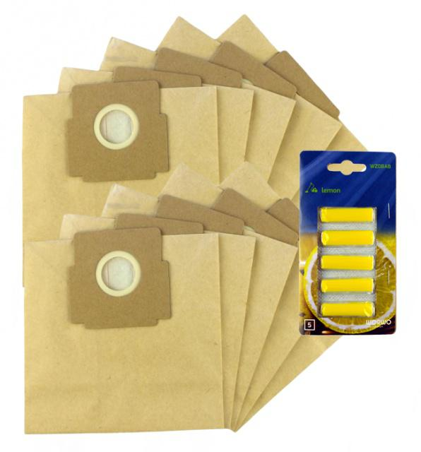 Sáčky do vysavače ZELMER Roto ZVC222 SP (VC 1001.0SP) papírové 10ks