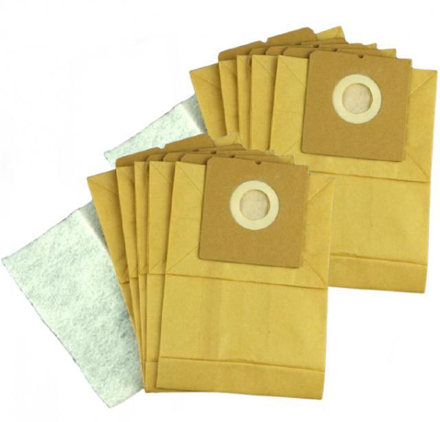 Sáčky do vysavače ECG VP 868 papírové 10ks
