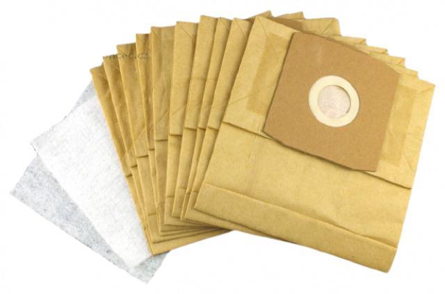 Sáčky do vysavavače PROGRESS PC 4100 až PC 4120 10ks papírové s filtry