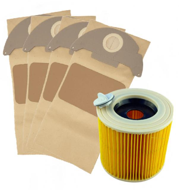 Sada sáčků a filtru pro KARCHER WD 2 Home 8+1ks