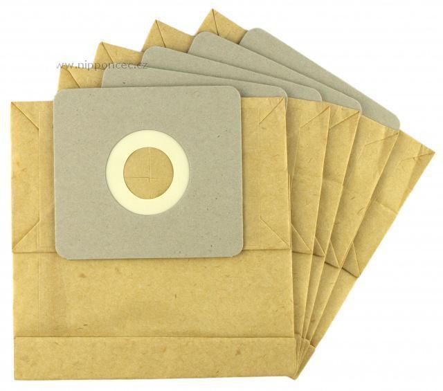 Sáčky do vysavačů DELONGHI Cleos XTH 170, XTH 180 EW papírové 5ks