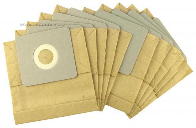 Sáčky do vysavače SENCOR SVC 825 Mandarine, Limet papírové 10 ks