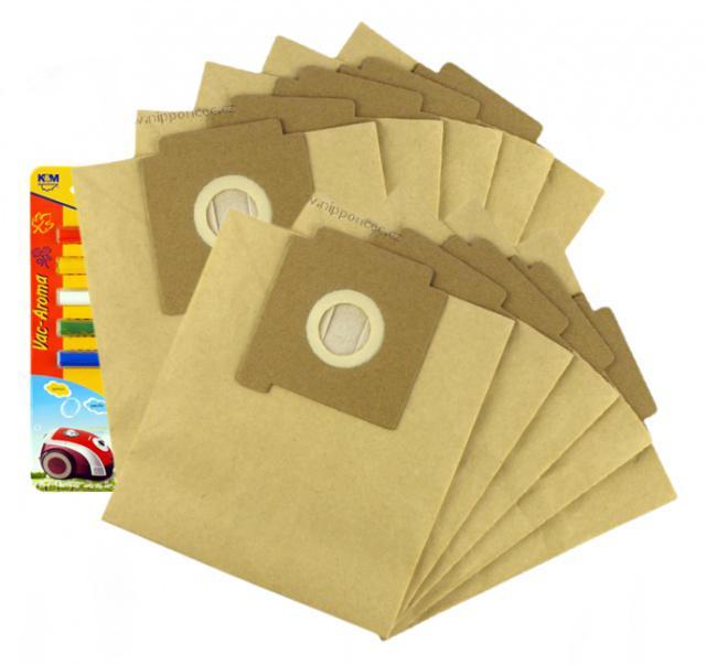 Papírové sáčky do vysavače ZELMER Maxim 2000W 10ks