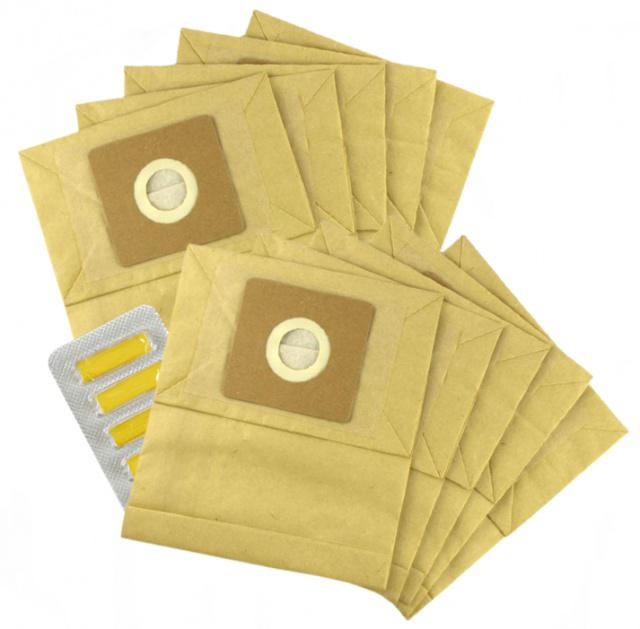 Sáčky do vysavače TESCO VC 108 papírové 10ks s filtry