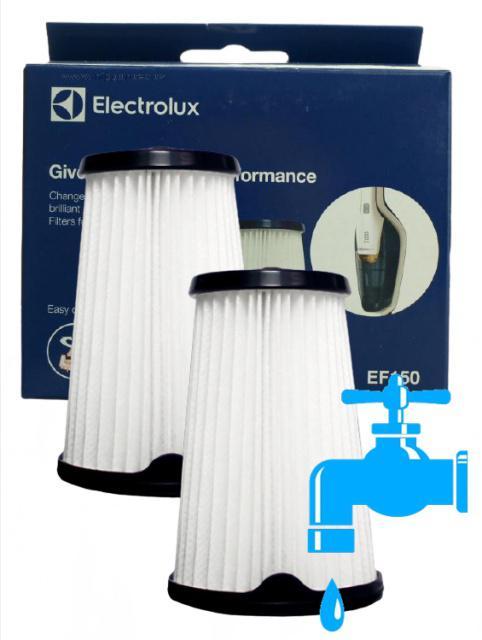 Filtry Electrolux ErgoRapido EF150
