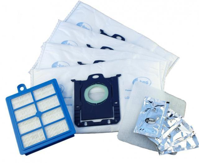 AEG Sáčky (S-Bag) AEG ASKVX9+HEPA Filtr H12 do AEG Viva Quickstop AVQ 2100 až 2190