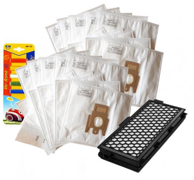 HEPA filtr k vysavači MIELE S6 S 6000 Cat & Dog a sáčky 1+10ks