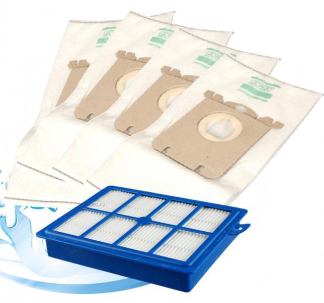 AEG Sáčky a omývatelný HEPA filtr pro AEG Viva Quickstop AVQ 2100 až 2190 4+1 ks