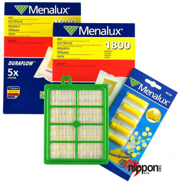 Menalux MSK3: s-bag sáčky a filtry pro PHILIPS FC 9060...FC 9069 Jewel 10+1ks PHILIPS