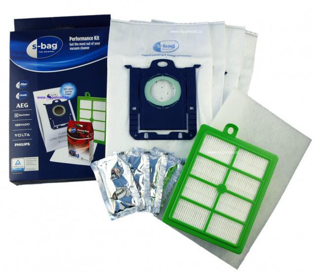 HEPA filtr Electrolux EFH12 pro AEG Viva Quickstop AVQ 2100 až 2190 a sáčky s-bag 4ks SRKS1 AEG