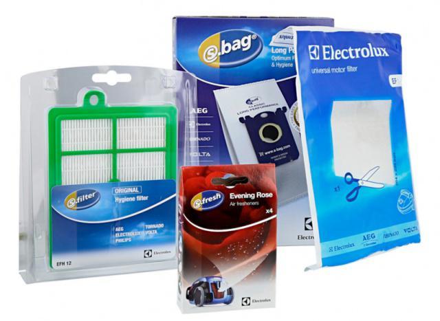 HEPA filtr Electrolux EFH12 pro PHILIPS FC 9220 až FC9240 Auto Clean a sáčky s-bag 4ks VCSK2