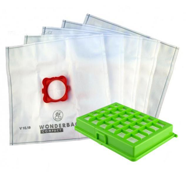 ROWENTA Sáčky a HEPA filtr do vysavače ROWENTA WB305140 textilní 5+1ks